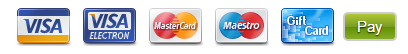 Visa or MasterCard Cards (Credit Cards)