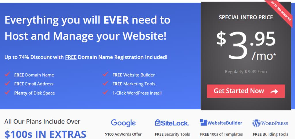 Justhost Web Hosting Service
